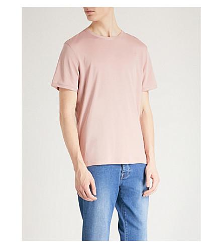 TED BAKER Pik cotton-jersey T-shirt (Dusky+pink