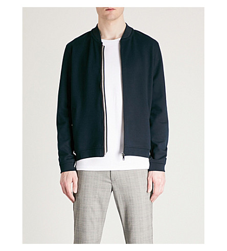 BAKER BAKER Wolf jacket Wolf jersey TED jersey TED Navy bomber jacket bomber aHwBxwnq
