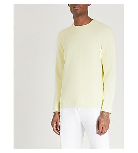 TED BAKER Wolfie jersey sweatshirt (Lemon