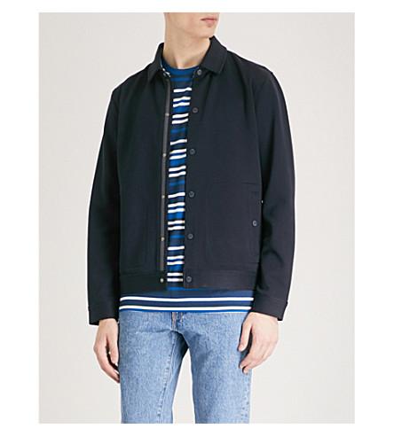 TED BAKER Dane cotton-blend jacket (Navy