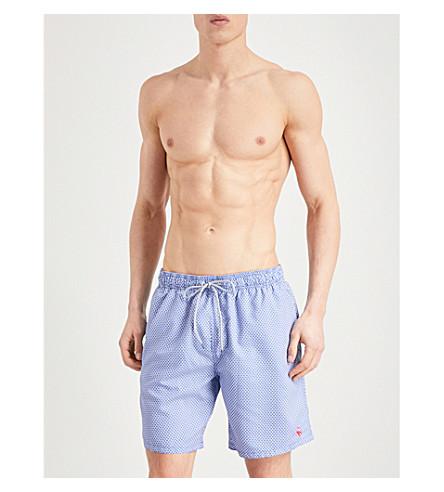 TED BAKER Larkman printed swim shorts (Blue