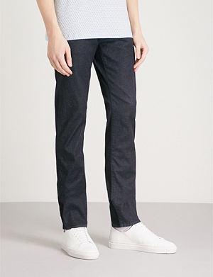 TED BAKER Vindie slim-fit straight-leg jeans