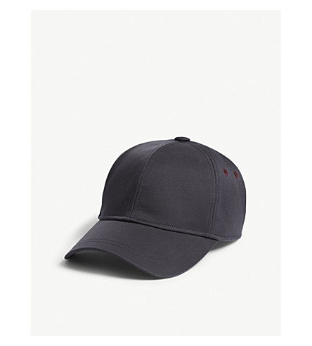 TED BAKER Dorlla nylon strapback cap (Navy