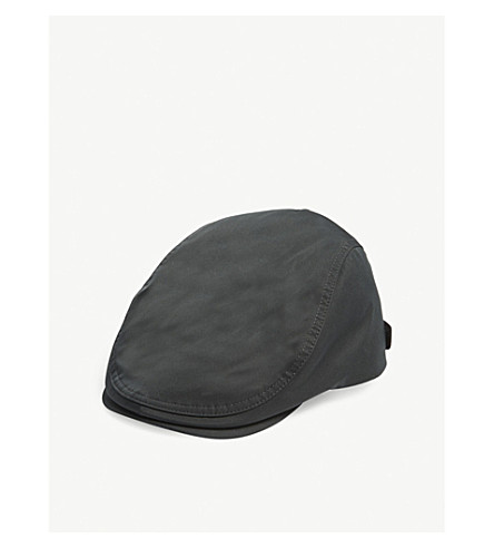 TED BAKER Mens nylon flat cap (Green