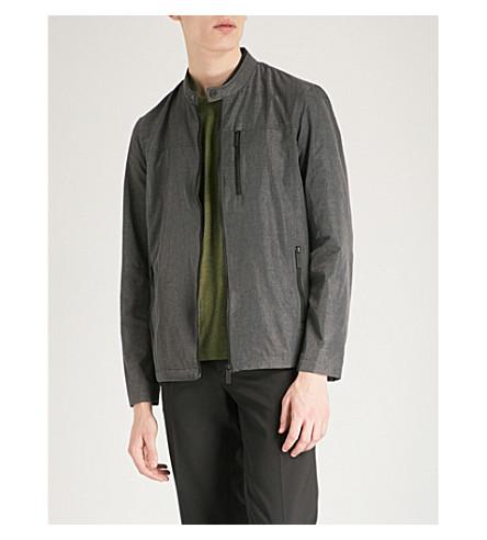 TED BAKER Shell harrington jacket (Grey