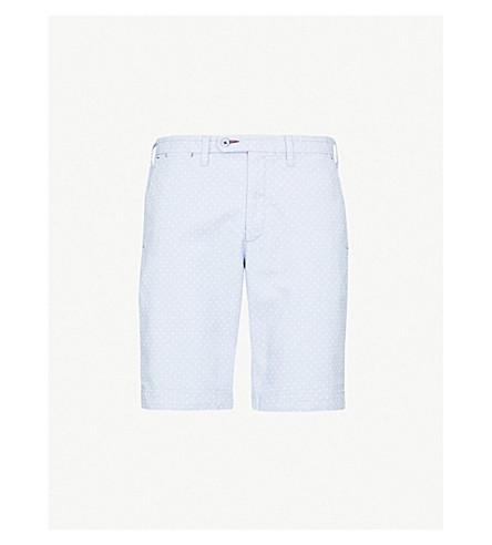 TED BAKER Gatman regular-fit cotton-blend shorts (Blue