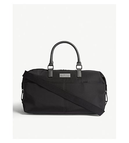 TED BAKER尼龙手提袋 (黑色