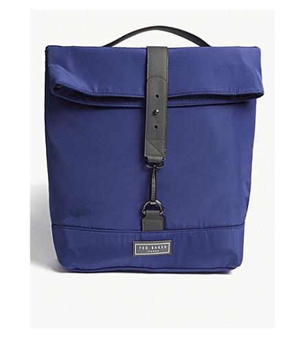 BAKER nylon mochila Sharkie TED azul 4SwHz0