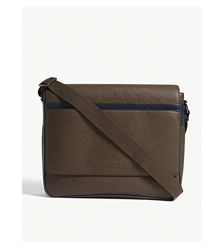 TED BAKER Somer messenger bag (Chocolate