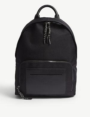 bc12dd5e3fdd10 TED BAKER Filer smart nylon backpack