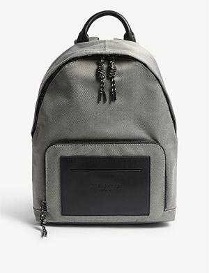 23f8468ab2bfed TED BAKER Filer smart nylon backpack