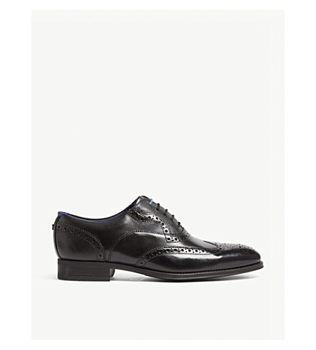 18dcd2e2c60268 TED BAKER - Leather Wingcap brogue