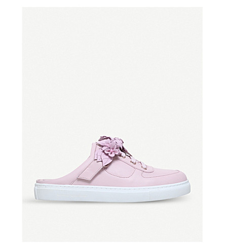 SOPHIA WEBSTER Lilico Jessie leather trainers (Pale+pink