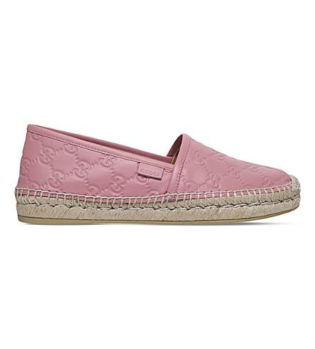 GUCCI Pilar pearl espad (Pale+pink