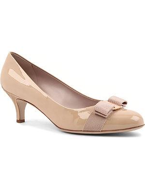 FERRAGAMO Carla court shoes