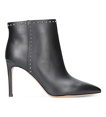 VALENTINO Lovestud leather ankle boots (Black