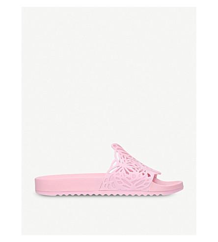 SOPHIA WEBSTER Lia rubber slider sandals (Pale+pink