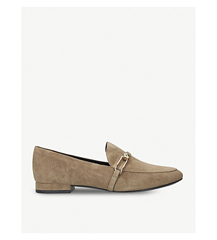 STELLA LUNA Stella suede loafers (Camel