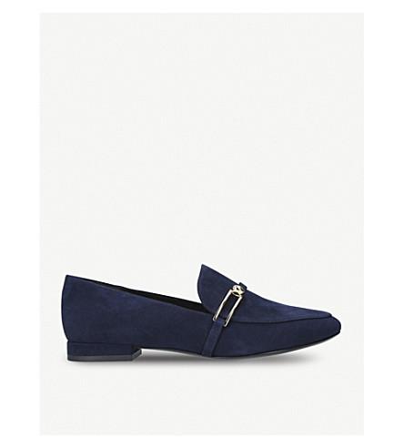 STELLA LUNA Stella suede loafers (Navy