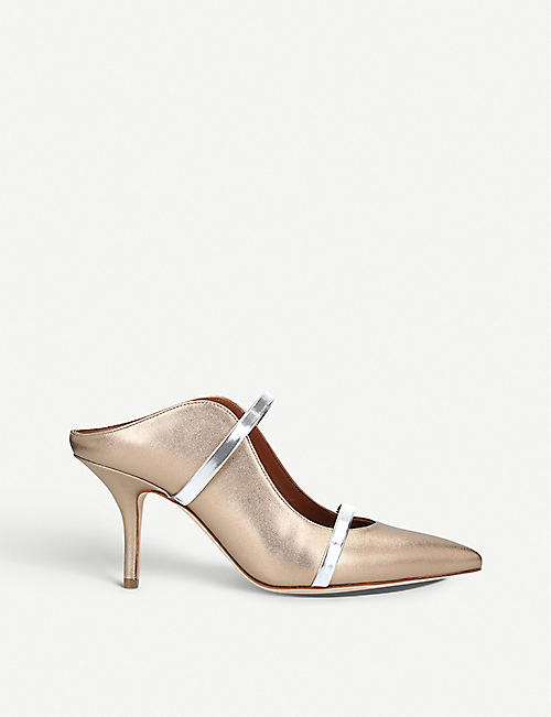 Pumps & High Heels for Women On Sale, Bronze, Leather, 2017, 3.5 4 Malone Souliers
