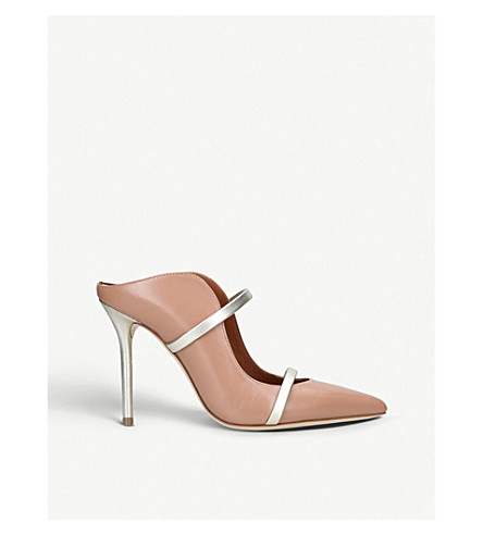 MALONE SOULIERS Maureen 100-161 leather pumps (Nude