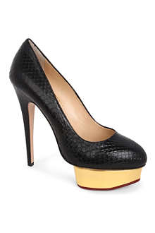 CHARLOTTE OLYMPIA Dolly mock-snake courts