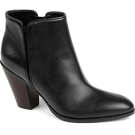 GIUSEPPE ZANOTTI Deputy leather ankle boots (Black