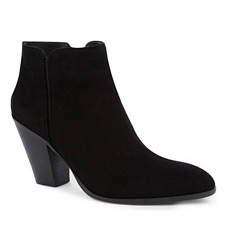GIUSEPPE ZANOTTI Deputy suede ankle boots (Black