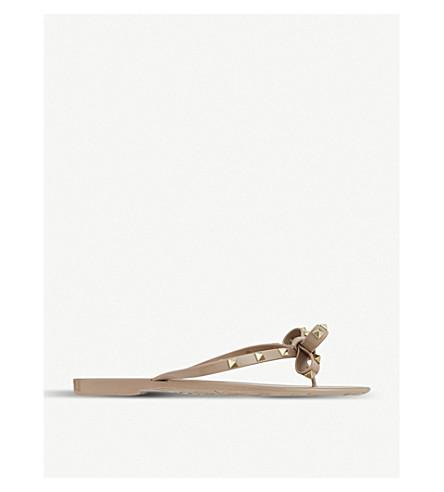 VALENTINO Rockstud sandals (Nude