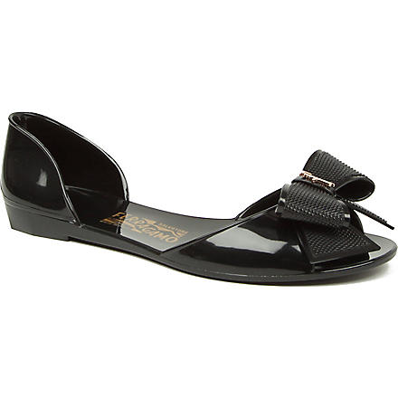 FERRAGAMO Barbados jelly sandals (Black