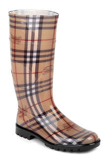 BURBERRY Haymarket wellies