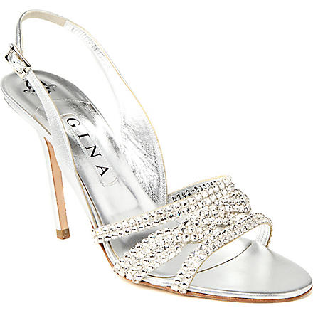 GINA Allium sandals (Silver