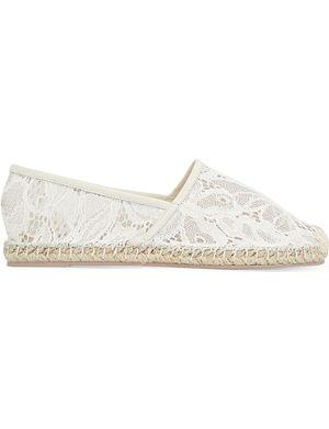 VALENTINO Escalus lace espadrilles