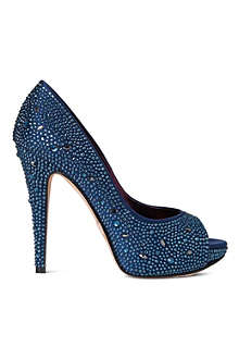 GINA Roxy embellished courts