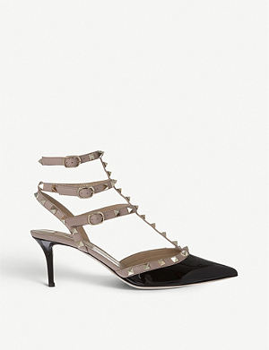 VALENTINO So Noir 65 leather sandals