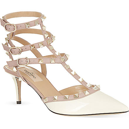 VALENTINO So Noir 65 sandals (Champagne