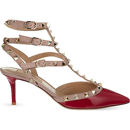 VALENTINO So Noir 65 sandals (Fushia