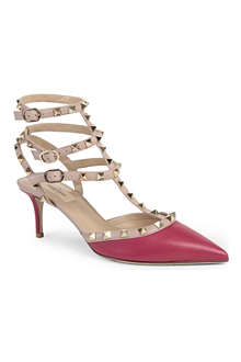 VALENTINO Studded court shoes
