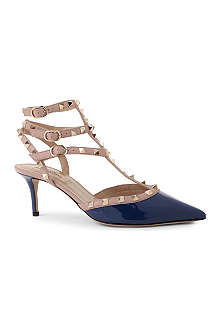 VALENTINO So Noir leather sandals