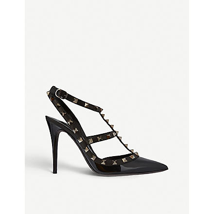 VALENTINO So Noir 100 sandals (Black