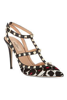 VALENTINO So Noir 100 stilettos