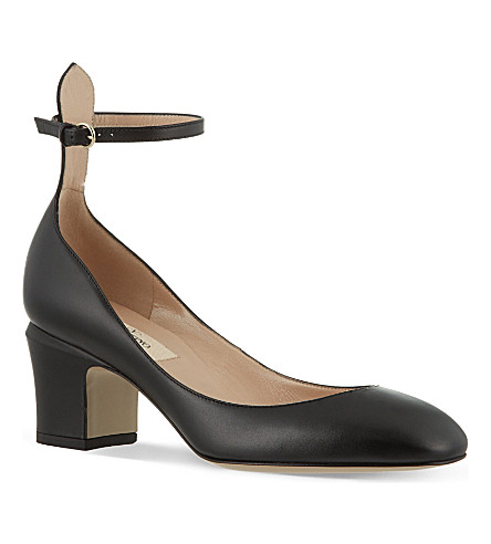 VALENTINO Patent leather pumps (Black