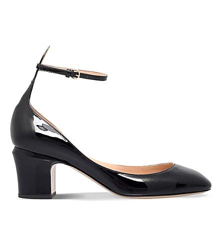 VALENTINO Tan-go 60 patent-leather courts (Black