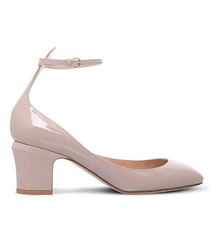 VALENTINO Tan-go 60 patent-leather courts (Nude
