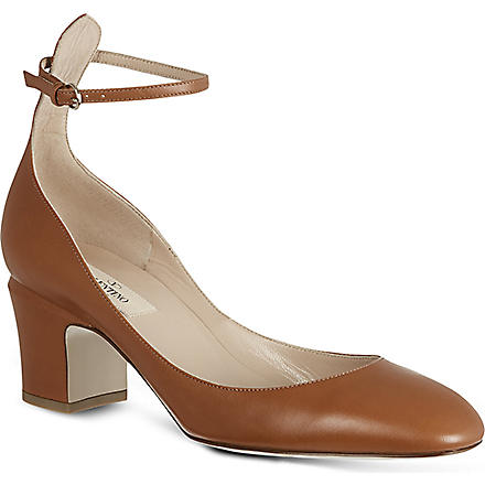 VALENTINO Tan go 60 leather pumps (Tan