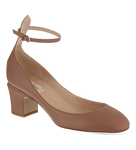 VALENTINO Leather pumps (Beige