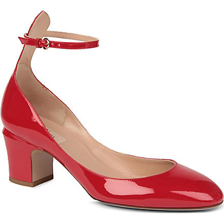 VALENTINO Patent leather courts (Red
