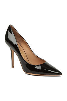 FERRAGAMO Susi patent leather courts