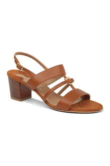 FERRAGAMO Sloan leather sandals