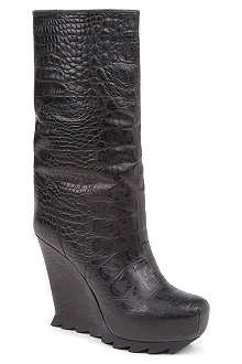 CAMILLA SKOVGAARD Holly mock-croc leather boots